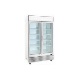 Glass Fridge - Double Door