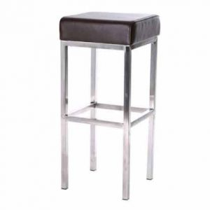 Club Stool - Chocolate