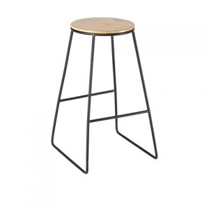 Industrial Stool - Black
