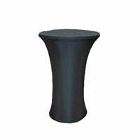Lycra Table Cover - Black