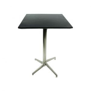 Square Bar Table - Black