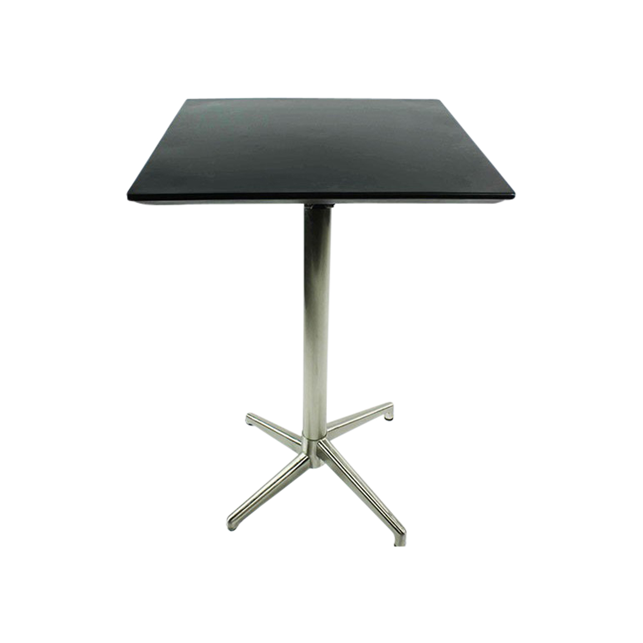 Picture of: Tall Square Bar Table Black Barlens