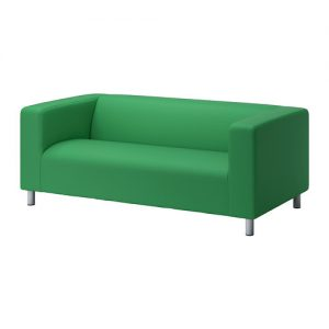 Studio Lounge - Green Fabric