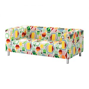 Studio Lounge - Multicolored Fabric