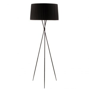 Santa & Cole Floor Lamp - Black