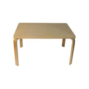 Childrens Timber Table Rectangle 78cm x 53cm