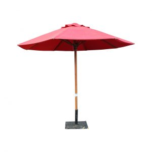 Market Umbrella - Red 3m