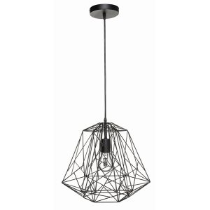 Matrix Black Pendant Light