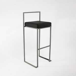 Padded Stool - Black