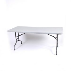 1.8m Rectangle Plastic Table