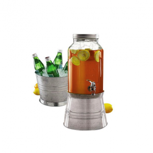 Glass Beverage Dispenser 5.7L