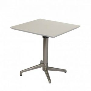 Folding Cafe Table - White
