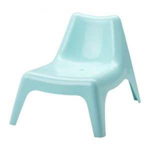 Easy Chair - Light Blue