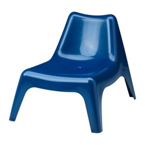 Easy Chair - Dark Blue