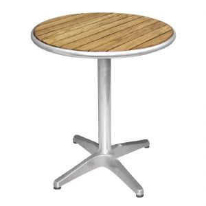 Round Wooden Bar Table