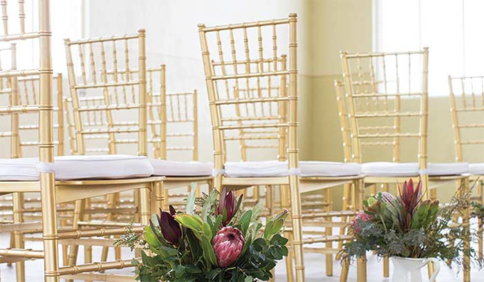 Choose the right chair for your event