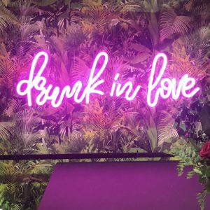 Neon Sign 'Drunk in Love'